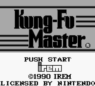 Kung-Fu Master Game Boy 01