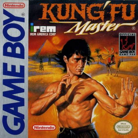 Kung-Fu Master Game Boy box