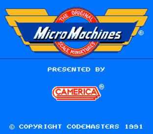 Micro Machines NES 01