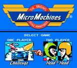 Micro Machines NES 02