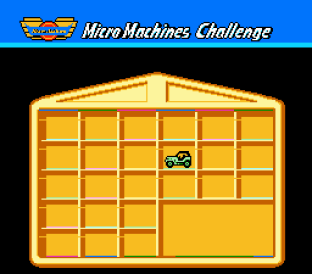 Micro Machines NES 09