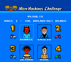 Micro Machines NES 21