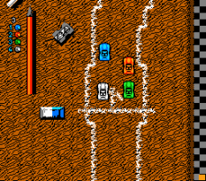 Micro Machines NES 22