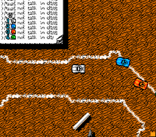 Micro Machines NES 23