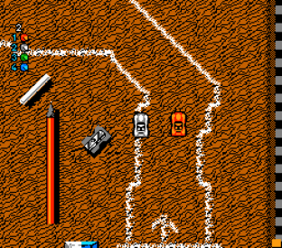 Micro Machines NES 34