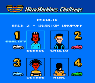 Micro Machines NES 42