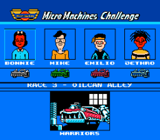 Micro Machines NES 44