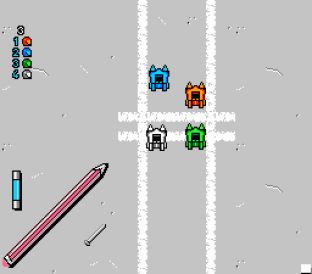 Micro Machines NES 45