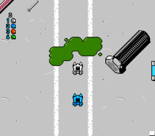 Micro Machines NES 53