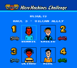 Micro Machines NES 57