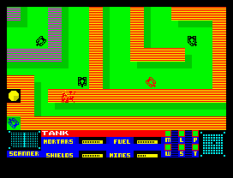 Panzadrome ZX Spectrum 22