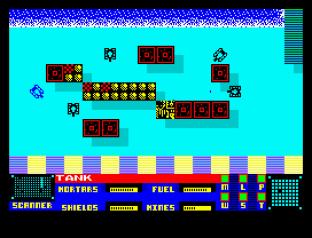 Panzadrome ZX Spectrum 45