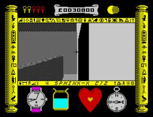 Total Eclipse 2 - The Sphinx Jinx ZX Spectrum 20