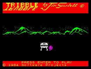Tribble Trubble ZX Spectrum 01
