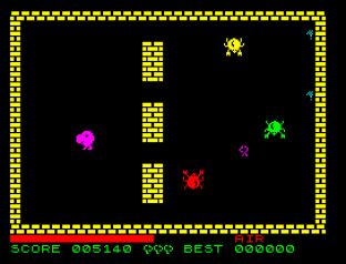 Tribble Trubble ZX Spectrum 34