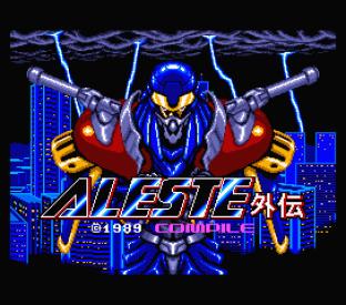 Aleste Gaiden MSX 001