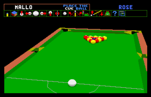 Archer Maclean's Pool Atari ST 09