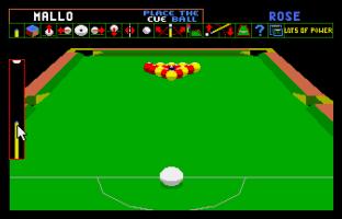 Archer Maclean's Pool Atari ST 12