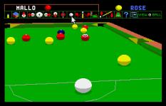 Archer Maclean's Pool Atari ST 32