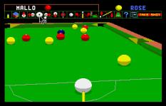Archer Maclean's Pool Atari ST 33