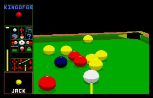 Archer Maclean's Pool Atari ST 45