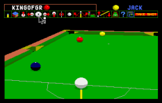 Archer Maclean's Pool Atari ST 77