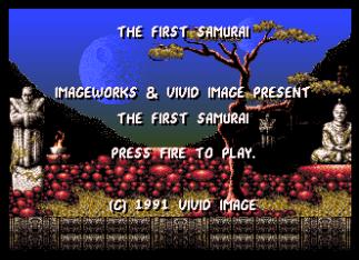 First Samurai Amiga 09