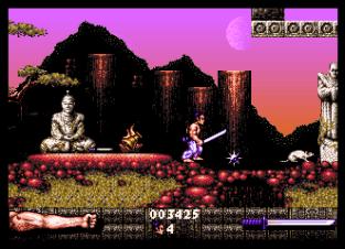 First Samurai Amiga 20