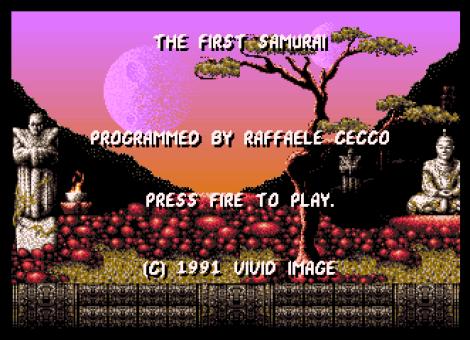 First Samurai Amiga 56