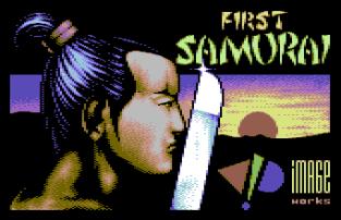 First Samurai C64 01