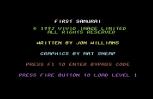 First Samurai C64 02