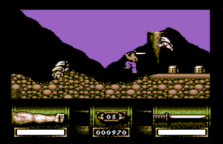 First Samurai C64 09