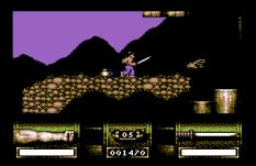First Samurai C64 11