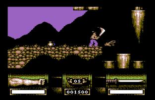 First Samurai C64 12