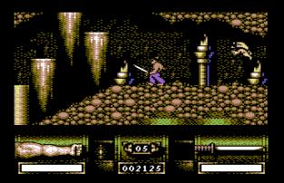 First Samurai C64 23