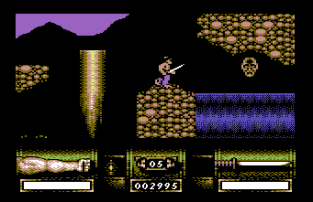 First Samurai C64 31
