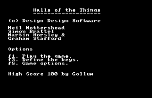 Halls of the Things C64 01