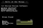 Halls of the Things C64 05