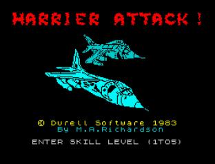 Harrier Attack ZX Spectrum 01