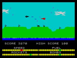 Harrier Attack ZX Spectrum 09