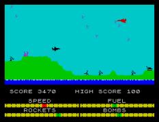 Harrier Attack ZX Spectrum 10