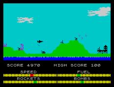 Harrier Attack ZX Spectrum 11