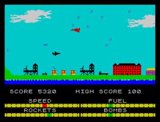 Harrier Attack ZX Spectrum 12