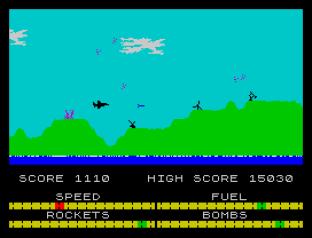 Harrier Attack ZX Spectrum 20