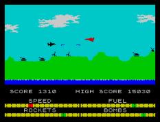 Harrier Attack ZX Spectrum 21