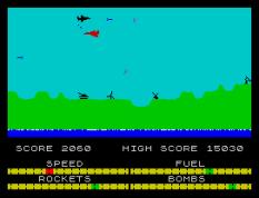 Harrier Attack ZX Spectrum 22