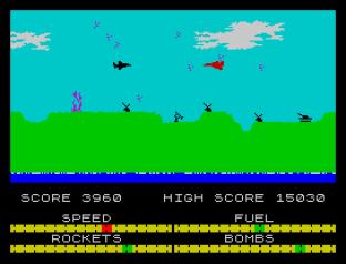 Harrier Attack ZX Spectrum 23