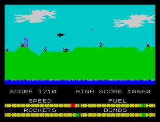 Harrier Attack ZX Spectrum 31