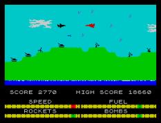 Harrier Attack ZX Spectrum 32