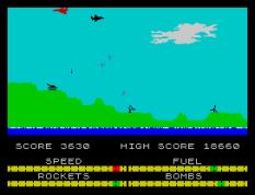 Harrier Attack ZX Spectrum 33